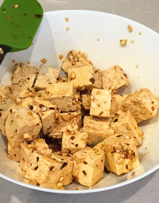 vegan general tso tofu spices