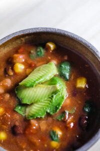 instant pot bean soup vegan recipe