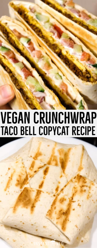 These vegan crunchwrap supremes are even better than the ones at Taco Bell. This recipe will show you which ingredients to use to make your crunchwrap vegan and step by step instructions on how to make them.