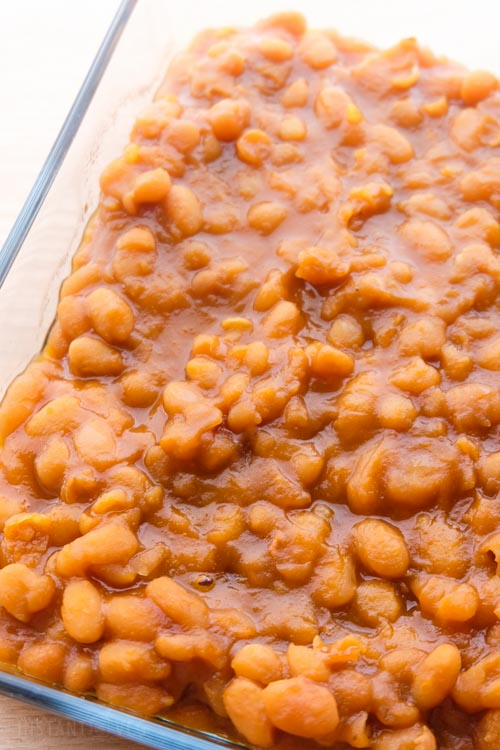Vegan Baked Beans Using Dry Beans