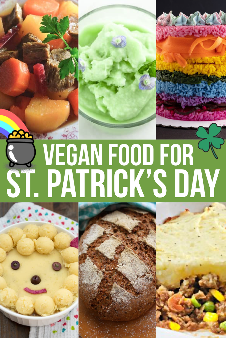 30+ Vegan St. Patrick's Day Food Ideas - Instant Veg